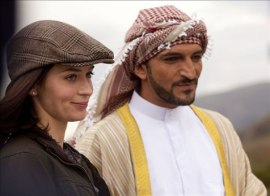 Emily Blunt and Amr Waked